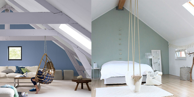 Zo verbouw je je zolder tot extra kamer praxis blog for Schilderen moderne volwassen kamer