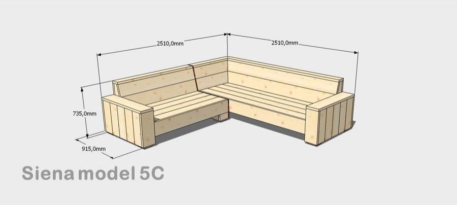 Steigerhouten bank maken praxis ja ik wil zelf for Foto op hout maken eigen huis en tuin