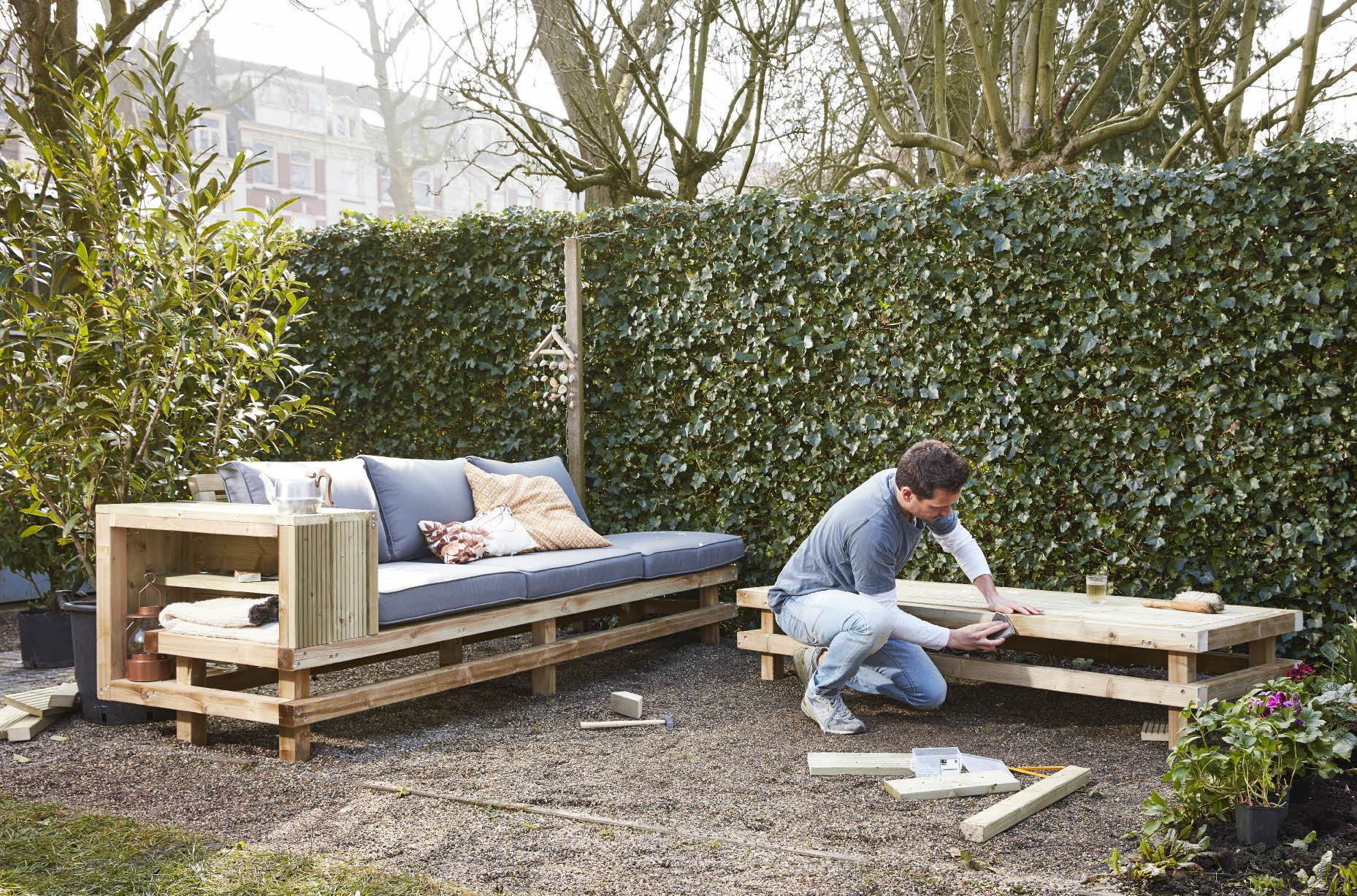 tuinmeubel maken inspiratie voor tuinmeubels praxis blog