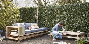 De meest populaire zelfgemaakte tuinmeubelen deze lente