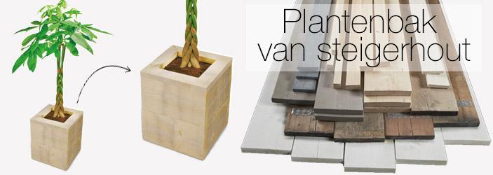 Maak je eigen kliko ombouw for Steigerhout praxis