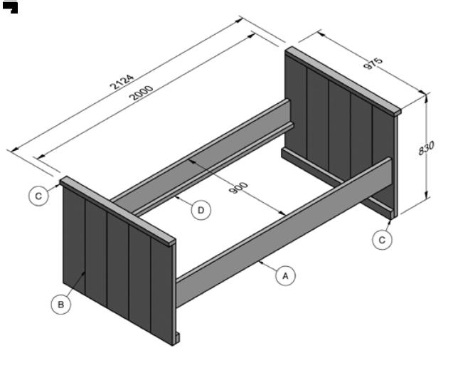 Maak een designer TV-meubel van eikenhout  voordemakers.nl