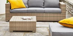 Welke tuinmeubels passen bij jouw stijl praxis blog - Lounge stijl ...