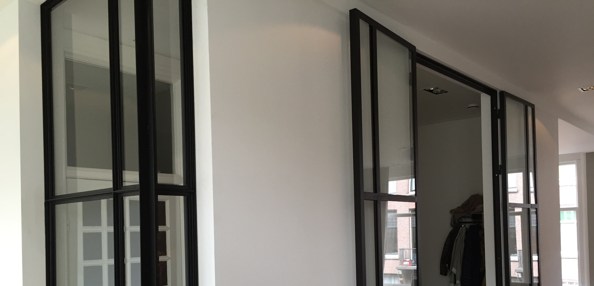 Stalen binnendeuren raam - Winkel raam keuken ...