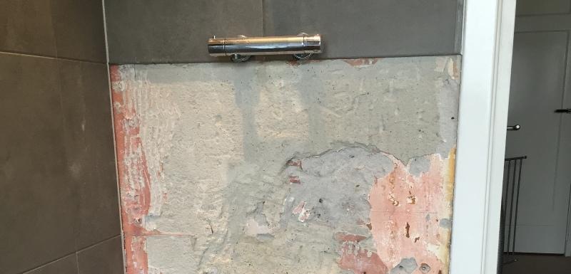 Vloertegel vervangen - Tegel patroon badkamer ...