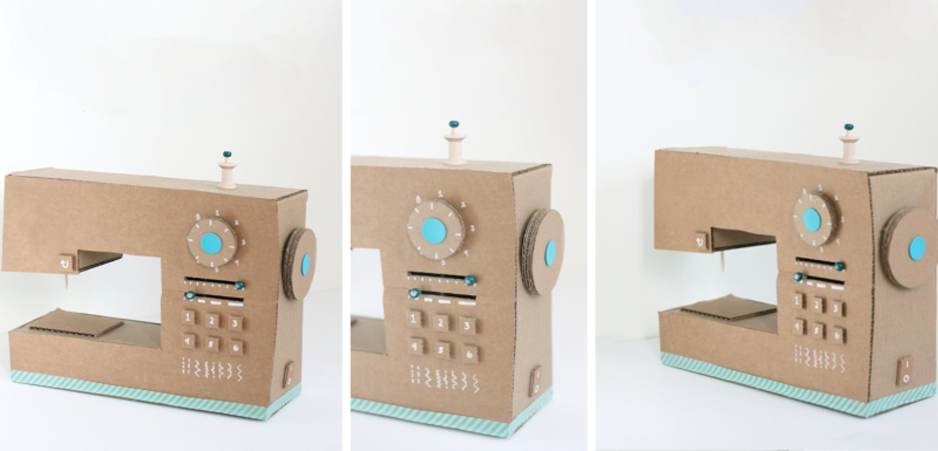 Een leuke naaimachine als surprise for Huis maken surprise