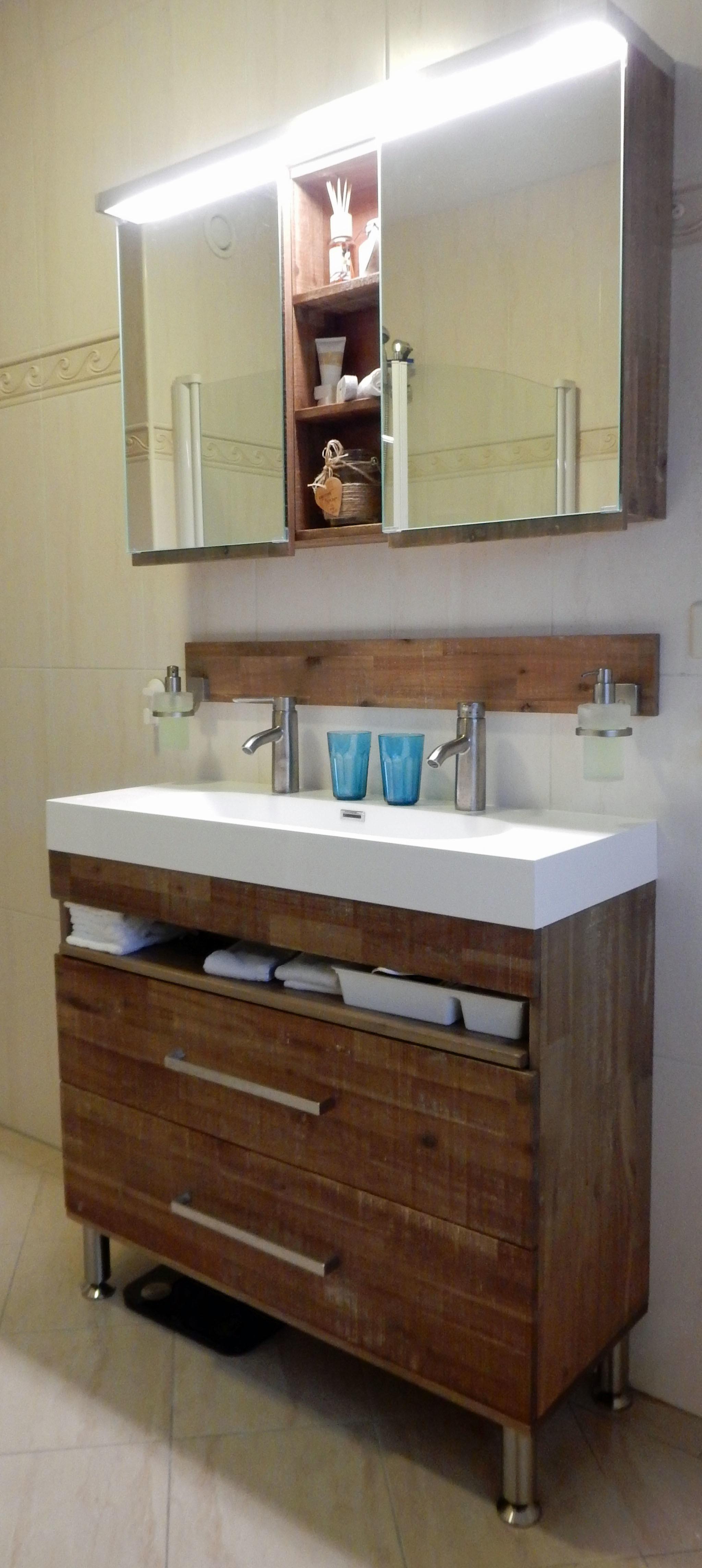 badkamermeubel plaatsen