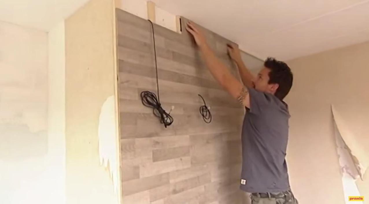 Plank Bevestigen Muur.Plank Aan Muur Cool Stock Foto Rood Hout Plank Muur Textuur