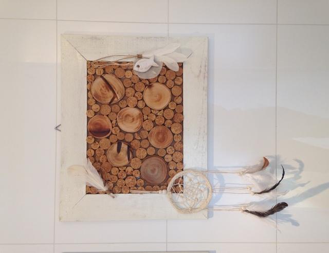 Prikbord van kurk - Voorbeeld van decoratie ...
