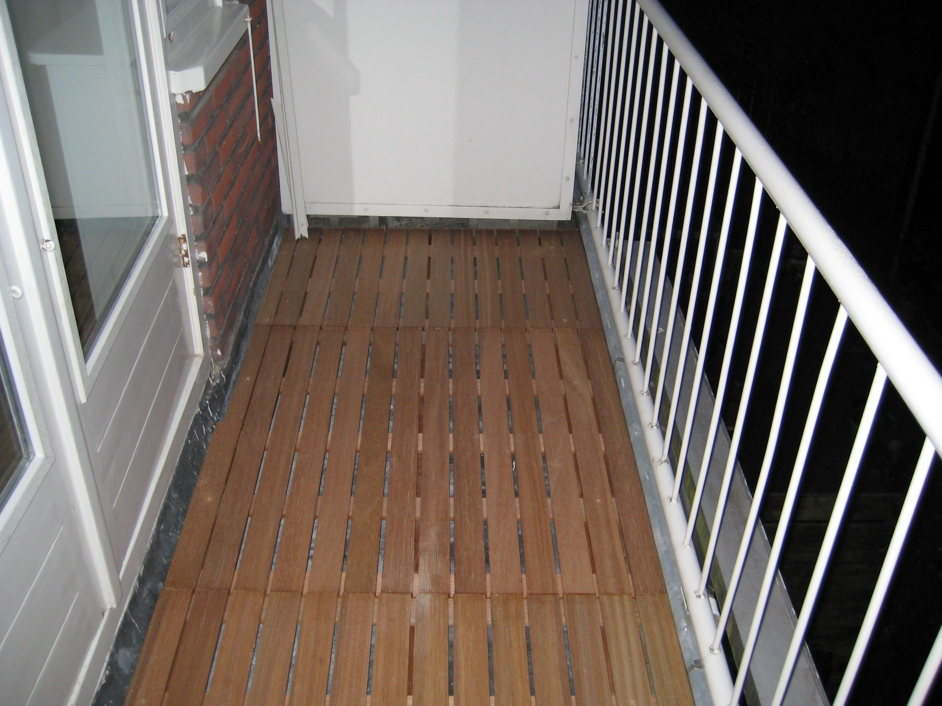 vlonder balkon