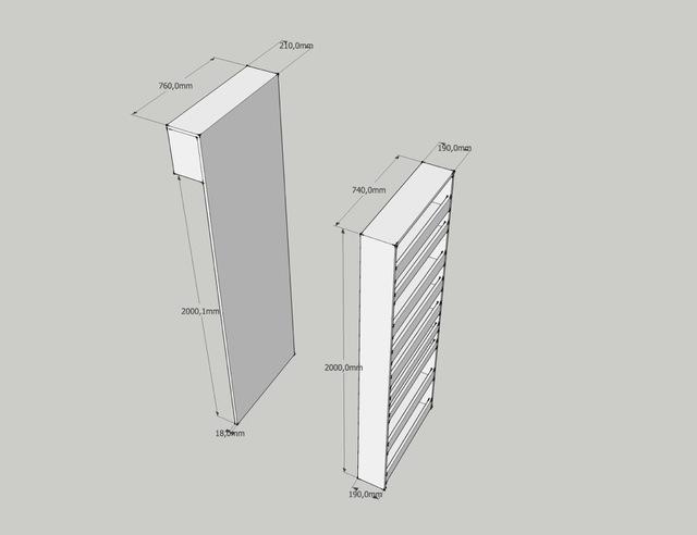 Apothekerskast voor in de badkamer maken for Tekening badkamer maken