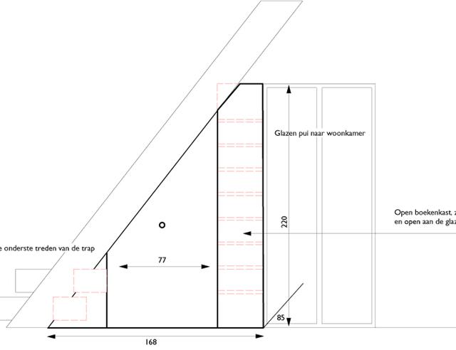 Verrijdbare lades onder trap - Hoe een trap te kleden ...