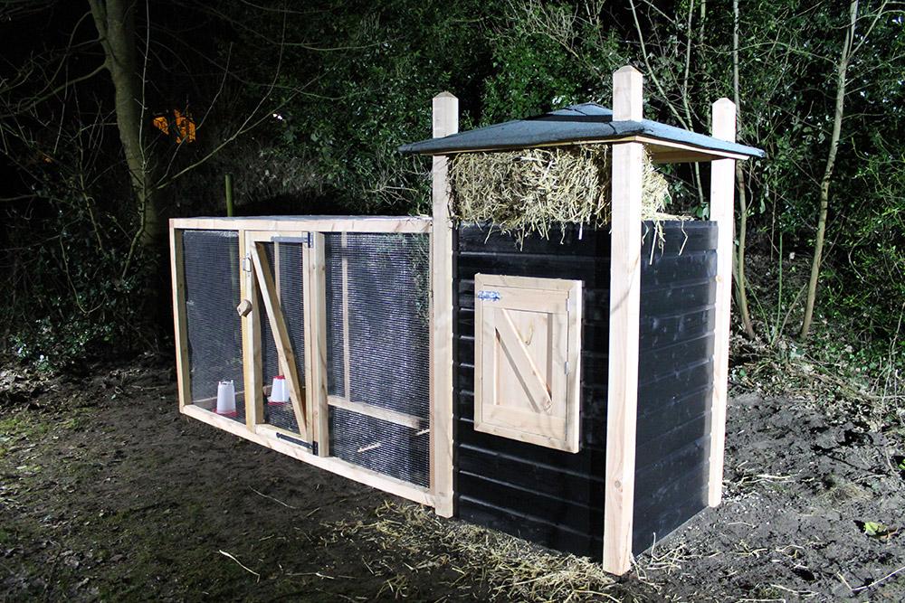 Kippenhok maken for Tuin praxis