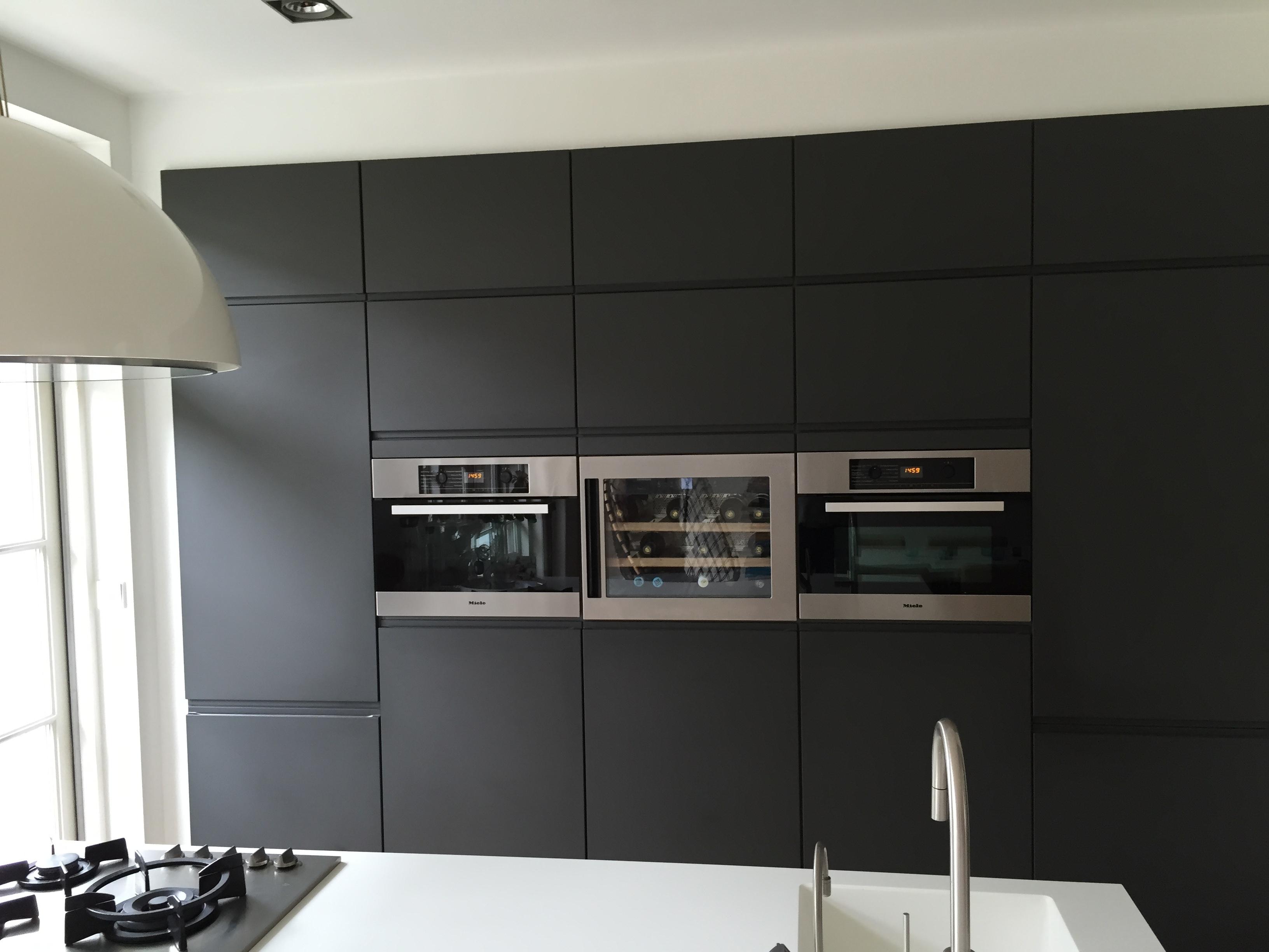 Wijnkast inbouw keuken keukenblad betonlook google zoeken keuken