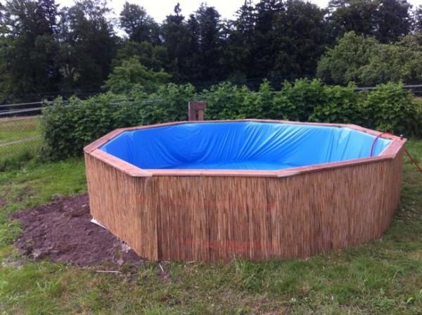 Pallet zwembad for Zwembad plastic