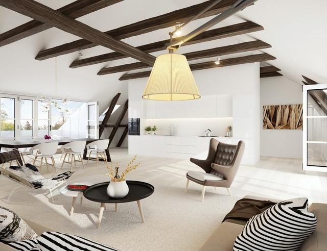 Prachtig plafond - Houten balkenplafond ...