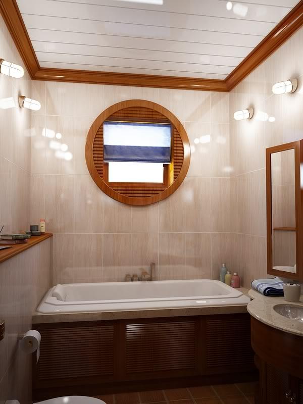 vliesbehang in badkamer: badkamer. sydati kan behang in badkamer, Badkamer